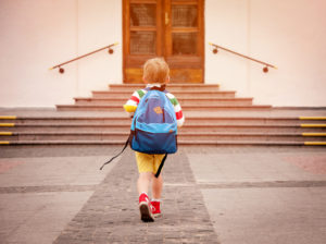 Child Going to School
